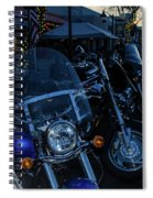 Motorcycles On Main Spiral Notebook