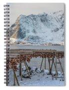 Reine, Lofoten - Norway Spiral Notebook