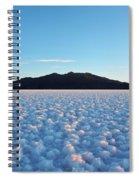 Salar De Uyuni, Bolivia Spiral Notebook