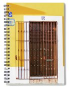 Wooden Door In Old San Juan, Puerto Rico Spiral Notebook