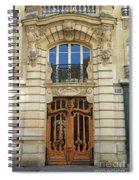 151 Rue De Grenelle Paris Spiral Notebook