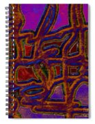 1554 Abstract Thought Spiral Notebook