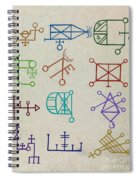 Cabbalistic Signs And Sigils, 18th Spiral Notebook
