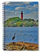 16- Jupiter Lighthouse Spiral Notebook