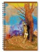 16007 Odilon Redon Spiral Notebook
