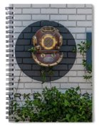 167 Raw Spiral Notebook
