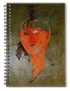 16937 Amedeo Modigliani Spiral Notebook