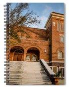 16th Street Baptist Church Steps In Birmingham Alabama Spiral Notebook