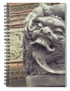 Bali Sculpture Spiral Notebook