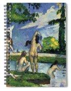 Bathers Spiral Notebook