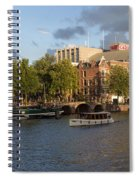 Canals Of Amsterdam Spiral Notebook