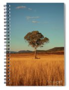 Country Agricultural And Farming Field. Spiral Notebook