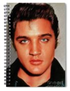 Elvis Presley, Rock And Roll Legend Spiral Notebook