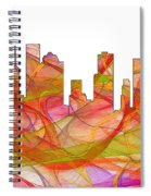 Houston Texas Skyline Spiral Notebook