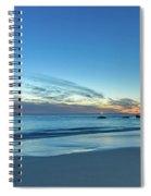 Rocky Daybreak Seascape Spiral Notebook