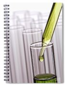 Scientific Experiment In Science Research Lab Spiral Notebook