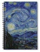 Starry Night Spiral Notebook