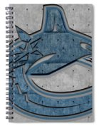 Vancouver Canucks Spiral Notebook