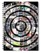 1766 Abstract Thought Spiral Notebook