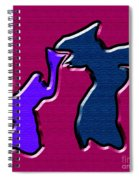 1771 Abstract Thought Spiral Notebook