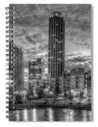 17th Street Dawn Atlantic Station Millennium Gate Art Spiral Notebook
