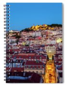 Lisbon, Portugal Spiral Notebook