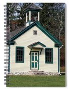 1800's School House 1 Spiral Notebook