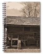 1800's Tool House Spiral Notebook