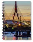 1812 Constutition Bridge From Rio San Pedro Puerto Real Spain Spiral Notebook