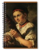 1820- Vasily Tropinin Spiral Notebook