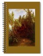 1856-57 Pan Amongst The Reeds Arnold Bcklin Spiral Notebook