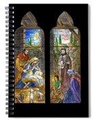 1857 Nativity Scene Spiral Notebook