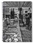 1860's Ore Assay Office Shop - Montana Spiral Notebook