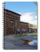 1863 H. S. Gilbert Brewery - Virginia City Ghost Town Spiral Notebook