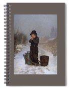 1867 Henry Bacon Spiral Notebook