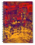 1872 Abstract Thought Spiral Notebook