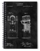 1876 Beer Cooler Spiral Notebook