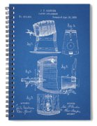 1883 Beer Faucet Design Spiral Notebook