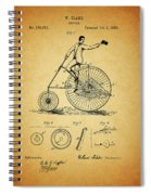 1883 Bicycle Spiral Notebook