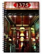1890s New York - Old - Fashioned Wine Shop Spiral Notebook