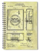 1895 Police Call Box Spiral Notebook