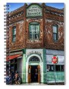 1898 Hotel Connor - Jerome Arizona Spiral Notebook