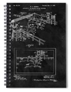 1899 Horse Track Patent Spiral Notebook