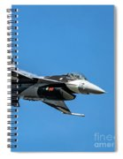 18th Aggressor Sgn Viper Pulling Up Trailing Vapes Spiral Notebook