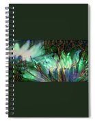 Jeweled Water Lilies Spiral Notebook