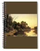 Johnstone Henry James A Backwater Of The River Murray South Australia Henry James Johnstone Spiral Notebook