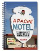 Route 66 - Tucumcari New Mexico Spiral Notebook