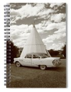 Route 66 - Wigwam Motel Spiral Notebook