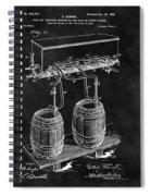 1900 Beer Cooler Spiral Notebook