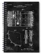 1900 Orchestra Drum Patent Spiral Notebook